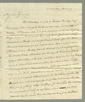 1818. 4 Nov. Joseph Hall to Christopher Jeaffreson...