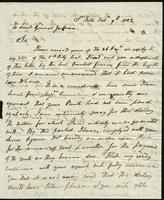 1822. 9 Feb. John Tyson to Christopher Jeaffreson...