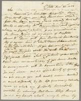 1822. 23 Dec. John Tyson to Christopher Jeaffreson...