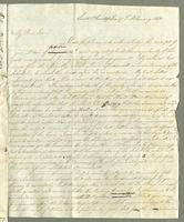 1817. 17 Feb. Robert William Pickwood to Christopher Jeaffreson...