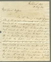 1819. 12 July. James Wildman to Christopher Jeaffreson...