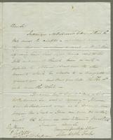1821. 8 Feb. John Hopton Forbes to Christopher Jeaffreson...