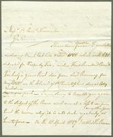1811. 1 Oct. Christopher Jeaffreson to Neaves...
