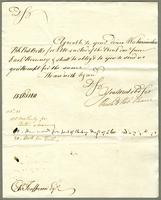 1811. 15 Oct. Neaves to Christopher Jeaffreson