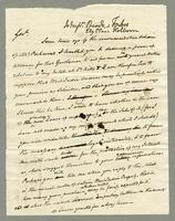 1818. 18 Nov. Christopher Jeaffreson to Pocock and Forbes, ms....