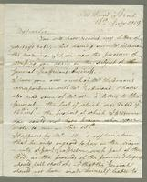 1819. 16 July. Felix Clay to Joseph Hall..