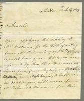 1819. 13 July. Richard and Thomas Neave to Chirstopher...