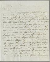 1823. 10 Feb. John Hopton Forbes to Christopher Jeaffreson...