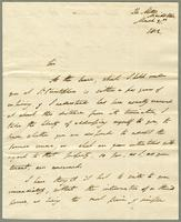 1812. 31 March. Romney to Christopher Jeaffreson