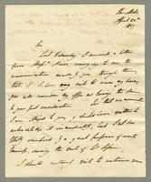 1817. 20 April. Lord Romney to Christopher Jeaffreson