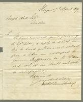1819. 7 April. George and Robert Dennistoun to Christopher...