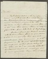 1822. 2 May John Hopton Forbes to Christopher Jeaffreson...