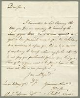 1781. 8 May. Richard Neave to Christopher Jeaffreson