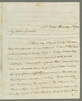 1819. 7 April. Joseph Hall to Christopher Jeaffreson...