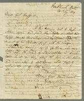 1819. 20 July. James Wildman to Christopher Jeaffreson...