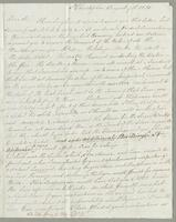 1820. 9 Aug. Robert William Pickwood to Christopher Jeaffreson...