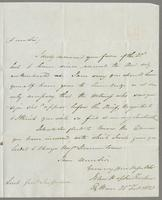 1823. 25 Feb. John Hopton Forbes to Christopher Jeaffreson..