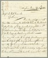 1813. 15 April. Christopher Jeaffreson to Thomas Neave...