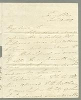1819. 19 Jan. Henry John Adeane to  Joseph Hall...