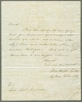1821. 21 June. John Hopton Forbes to Christopher Jeaffreson...