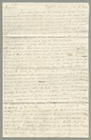1820. 24 Sept. John Tyson to Christopher Jeaffreson...