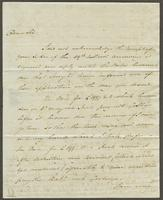 1822. 30 Apr. John Hopton Forbes to Christopher Jeaffreson...