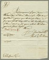 1792. 24 April. Richard and Thomas Neave to Christopher Jeaffreson...