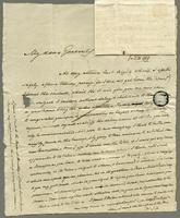 1819. 21 Jan. Joseph Hall to Christopher Jeaffreson...