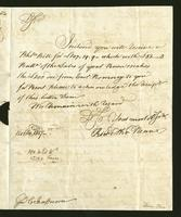 1817. 14 Oct. Richard and Thomas Neave to Christopher Jeaffreson...