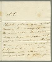 1819. 15 April. Thomas Neave to Joseph Hall..