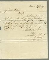 1819. 9 Aug John Brown to Christopher Jeaffreson...