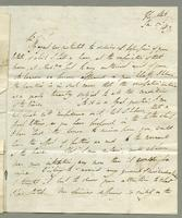 1819. 27 Jan. Lord Romney to Christopher Jeaffreson....