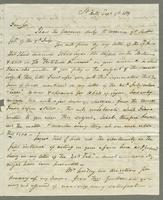 1819. 9 Sept. John Tyson to Christopher Jeaffreson...