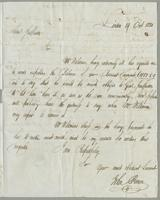1820. 19 Oct. John Brown to Christopher Jeaffreson...