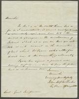 1822. 28. May. John Hopton Forbes to Christopher Jeaffreson...
