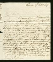 1817. 27 Oct. Richard and Thomas Neave to Christopher Jeaffreson..