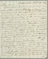 1819. 20 Oct. Robert William Pickwood to Christopher Jeaffreson...