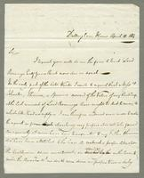 1814. 10 April. Christopher Jeaffreson to Thomas Neave...