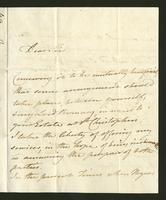 1817. 7 Dec. Thomas Neave to Christopher Jeaffreson...