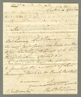 1814. 13 April. Richard & Thomas Neave to Christopher Jeaffreson