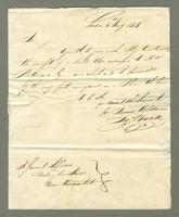 1818. 5 Jan. John Brown to Christopher Jeaffreson