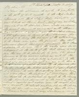 1819. 7 Feb. Robert William Pickwood to Christopher Jeaffreson...