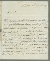 1819. 22 April. Thomas Neave to Christopher Jeaffreson...