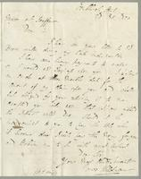 1820. 28 Oct. James Wildman to Christopher Jeaffreson...