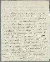 1823. 23 Aug. John Hopton Forbes to Christopher Jeaffreson...