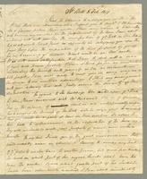 1819. 8 Feb. John Tyson to Christopher Jeaffreson...