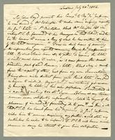 1814. 20 July. Christopher Jeaffreson to Sir John Boyd..