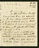 1818. 23 Jan. Lord Romney to Christopher Jeaffreson...