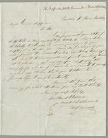1820. 1 Nov. John Brown to Christopher Jeaffreson...