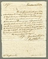 1814. 21 Oct. Richard and Thomas Neave to Christopher Jeaffreson...